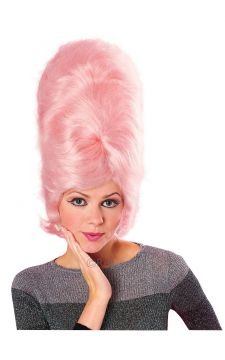 Beehive Wig - Pink For Sale - Pink Beehive Wig | The Costume Corner Fancy Dress Super Store