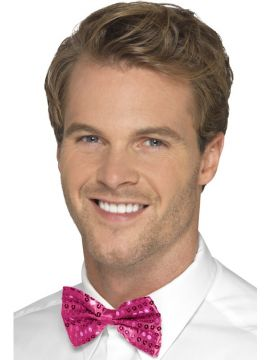 Pink Bow Tie For Sale - Pink Dicky Bow | The Costume Corner Fancy Dress Super Store