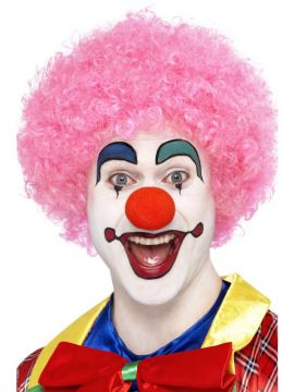 Clown Wig - Pink For Sale - Crazy Clown Wig, Pink | The Costume Corner Fancy Dress Super Store