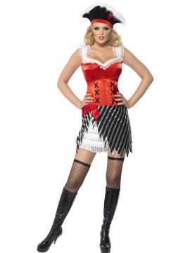 Fever Pirate For Sale - Fever Pirate With Hat And Dress | The Costume Corner Fancy Dress Super Store