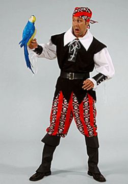 Pirate Man For Sale - Pirate Man (Hire Costume) | The Costume Corner