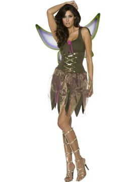 Pixie For Sale - Fever Pixie Costume, With Dress and Wings | The Costume Corner Fancy Dress Super Store