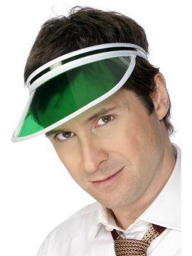 Poker Visor For Sale - Green Poker Visor | The Costume Corner Fancy Dress Super Store