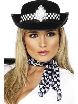 Police Hat For Sale - Police Hat, with Badge | The Costume Corner Fancy Dress Super Store