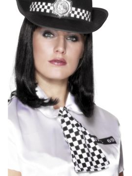 Policewoman's Scarf For Sale - Policewoman's Scarf, with Elastic Neck Band | The Costume Corner Fancy Dress Super Store