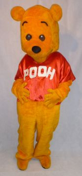Pooh Bear Mascot For Sale -  | The Costume Corner