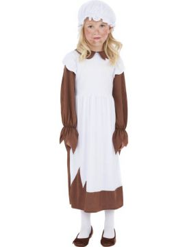 Poor Victorian For Sale - Poor Victorian Costume, Brown, with Dress and Hat | The Costume Corner Fancy Dress Super Store
