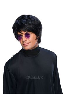 Pop Wig - Black For Sale - Popstar Black Wig | The Costume Corner Fancy Dress Super Store