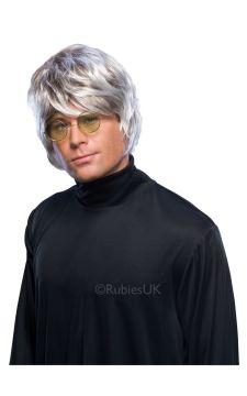 Pop Wig - Grey For Sale - Popstar Grey Wig | The Costume Corner Fancy Dress Super Store