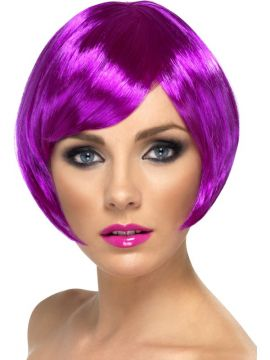 Babe Wig - Purple For Sale - Purple Babe Wig  | The Costume Corner Fancy Dress Super Store