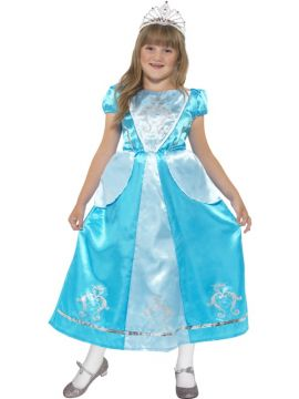 Rags to Riches Princess For Sale - Rags to Riches Princess Costume, Blue, with Dress | The Costume Corner Fancy Dress Super Store