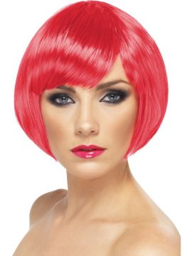 Babe Wig - Dark Pink For Sale -  | The Costume Corner Fancy Dress Super Store