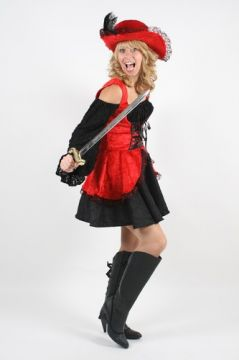 Red Buccaneer Lady For Sale - Red Buccaneer Lady