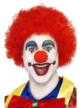 Clown Wig - Red For Sale - Crazy Clown Wig, Red | The Costume Corner Fancy Dress Super Store