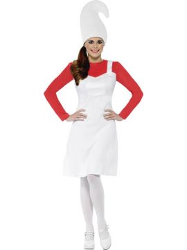 Red Garden Gnome Costume For Sale - Includes Dress and Hat | The Costume Corner Fancy Dress Super Store