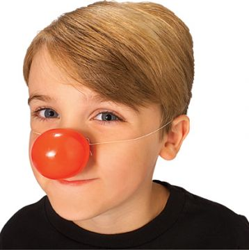 Red Nose For Sale - Red plastic clown nose. | The Costume Corner Fancy Dress Super Store