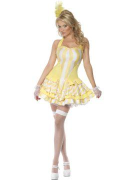 Renaissance For Sale - Fever Bon-Bon Marie Costume, Yellow, With Dress | The Costume Corner Fancy Dress Super Store