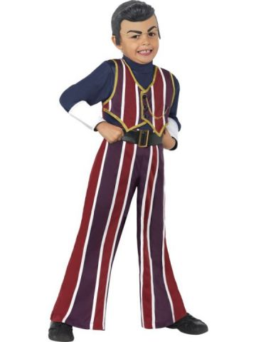 Lazy Town - Robbie Rotten For Sale - Lazytown Robbie Rotten Costume, With Top, Trousers and Headpiece | The Costume Corner Fancy Dress Super Store