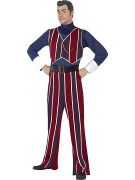 Robbie Rotten For Sale - Lazytown Robbie Rotten Costume, With Top, Trousers and Headpiece | The Costume Corner Fancy Dress Super Store