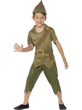 Robin Hood For Sale - He stole from the rich and gave to the poor… Robin Hood; the myth, the legend! This magical costume is complete with a top, trousers and hat; simply add plimsolls and th... | The Costume Corner Fancy Dress Super Store