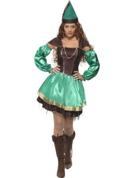 Robyn Hood For Sale - Robyn Hood Female, With Dress, Sleeves and Hat | The Costume Corner Fancy Dress Super Store