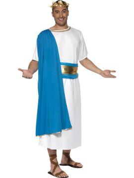 Roman Senator For Sale - Roman Senator Costume, Robe, Belt and Headpiece.   The Costume Corner Fancy Dress Super Store