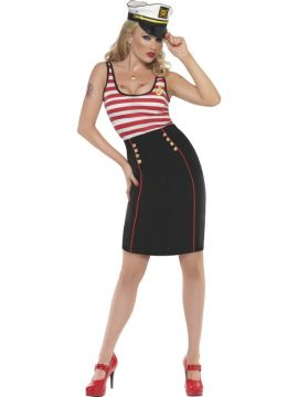 Sailor For Sale - Fever Sailor Dress | The Costume Corner Fancy Dress Super Store