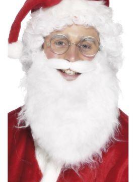 Santa Beard For Sale - Santa Beard, White, Economy | The Costume Corner Fancy Dress Super Store