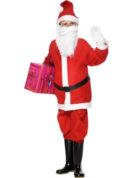 Santa For Sale - Santa Costume. Includes jacket, trousers, hat and belt | The Costume Corner Fancy Dress Super Store