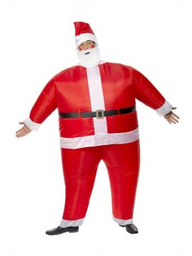 Santa Claus Inflatable For Sale - Inflatable Santa Claus Costume. | The Costume Corner Fancy Dress Super Store