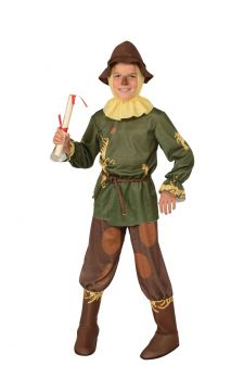 Scarecrow For Sale - The straw is all included in this charming Scarecrow outfit from the classic 1939 movie The Wizard of Oz. Join Dorothy and her friends, head off to see find the Wizard and who ... | The Costume Corner Fancy Dress Super Store