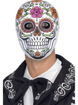 Senor Bones Mask For Sale - Senor Bones Mask, White   The Costume Corner Fancy Dress Super Store