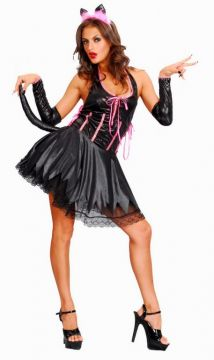 Sexy Cat For Sale - Conains dress, petticoat, gloves and headband.