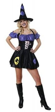 Sexy Cat Witch For Sale - Contains dress and Hat Standard Womens One Size   The Costume Corner Fancy Dress Super Store