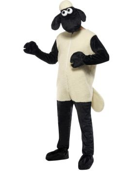 Shaun the Sheep Costume For Sale - Shaun the Sheep Costume, with Jumpsuit and Headpiece, in Display Bag | The Costume Corner Fancy Dress Super Store