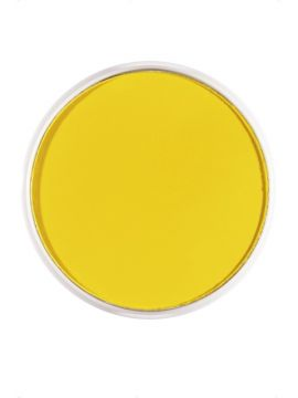 Yellow Face and Body Paint For Sale - Smiffy's Make-Up FX, Aqua Face and Body Paint, Yellow, 16ml, Water Based   The Costume Corner Fancy Dress Super Store