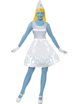 Smurfette For Sale - Smurfette Costume | The Costume Corner Fancy Dress Super Store