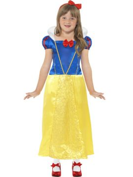 Snow Princess For Sale - Snow Princess Costume, Yellow, with Dress and Headband | The Costume Corner Fancy Dress Super Store
