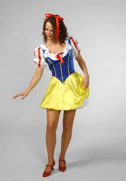 Snow Princess Short Satin For Sale - SnowPrincess Short Satin (Hire Costume) | The Costume Corner