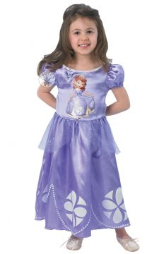 Sofia For Sale - Go from rags to riches as you join the royal household when your mother marries the King. Just like Sofia The First, you'll quickly have the look of real princess in this magic... | The Costume Corner Fancy Dress Super Store
