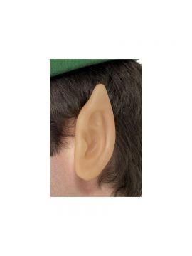 Soft Vinyl Pointed Elf Ears For Sale - Soft Vinyl Pointed Elf Ears, Skin Coloured | The Costume Corner Fancy Dress Super Store