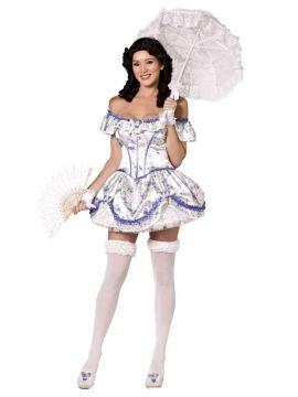 Southern Belle For Sale - Adult Female Bijou Boutique Southern Belle Costume , Corset and Skirt | The Costume Corner Fancy Dress Super Store