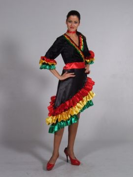 Spanish Dress Coloured For Sale - Spanish Lady Coloured