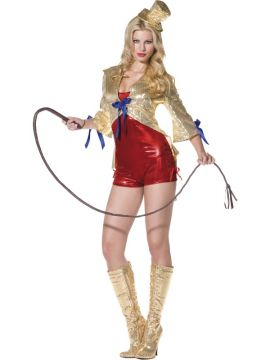 Sparkle Circus Lady For Sale - Fever Sparkle Circus Lady Costume, With Jacket, Jumpsuit and Hat | The Costume Corner Fancy Dress Super Store