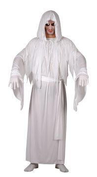 Spirit / Ghost Costume For Sale - Includes robe, belt & hooded cape