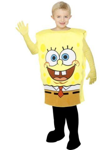 Spongebob For Sale - Spongebob Costume. Includes Spongebob body suit with gloves | The Costume Corner Fancy Dress Super Store