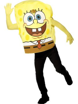 Spongebob For Sale - Spongebob costume includes bodysuit with arms. | The Costume Corner Fancy Dress Super Store