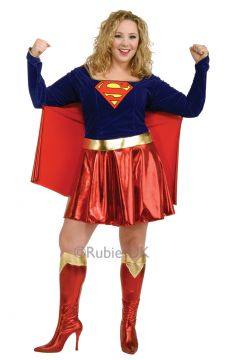 Supergirl Plus For Sale -  | The Costume Corner Fancy Dress Super Store
