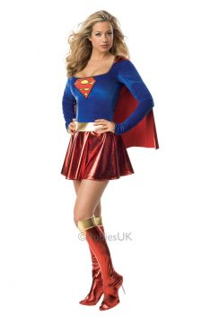 Supergirl For Sale - Remember Kara Zor-El from Action Comics #252? Thought not. More likely you'll remember her as Supergirl played by Helen Slater in the 1984 film. You're sure to look the part, t... | The Costume Corner Fancy Dress Super Store