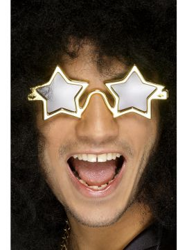 Superstar Shades For Sale - Superstar Shades, Gold, on Display Card | The Costume Corner Fancy Dress Super Store